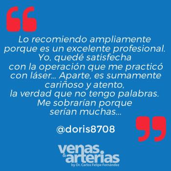 Testimonio doris8708