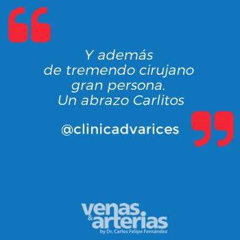 Testimonio clinicadvarices